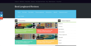 best longboard reviews niche website