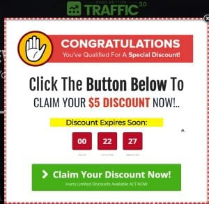 push button traffic 3.0 review sales page discount