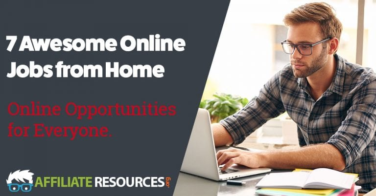 7 Awesome Online Jobs from Home