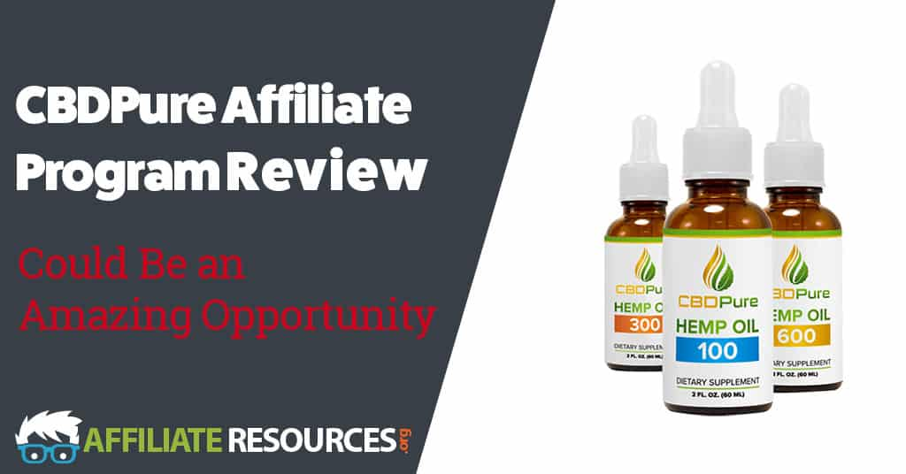 cbdpure affiliate program review