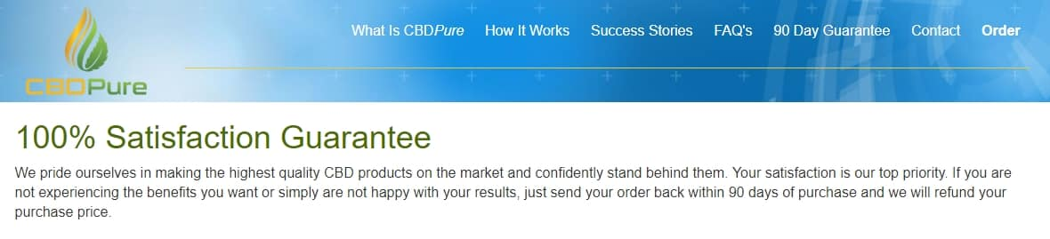cbd pure affiliate program review 90 day