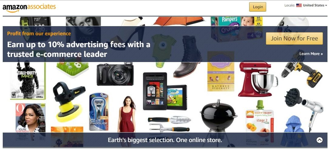 Top 10 affiliate programs for beginners amazon