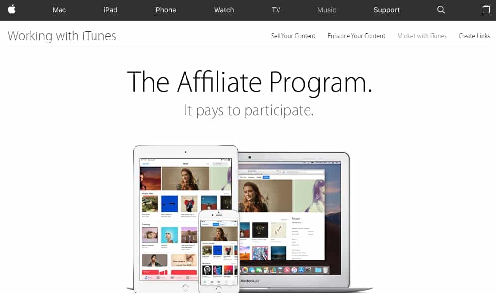 Top 10 affiliate programs for beginners iTunes