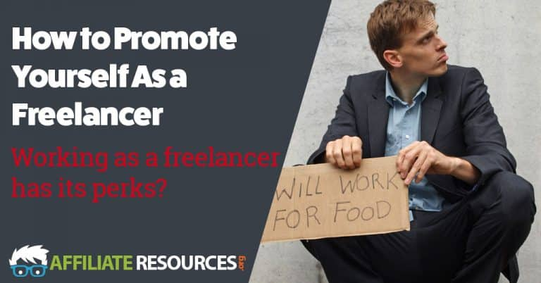 How to Promote Yourself As a Freelancer
