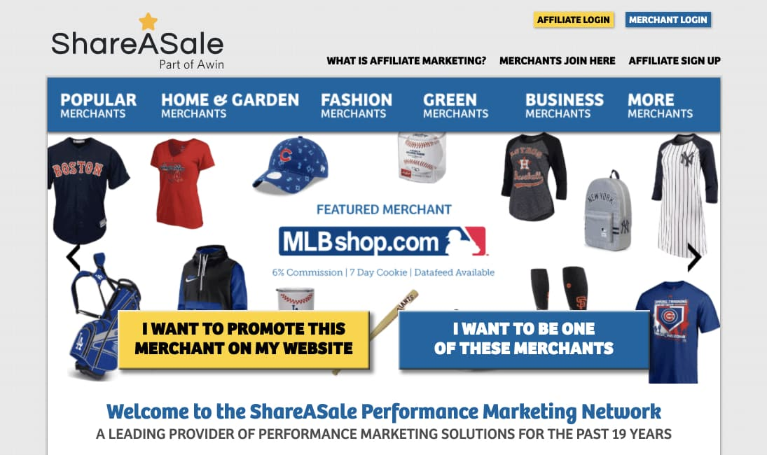 Top 10 Affiliate Programs for Beginners ShareASale