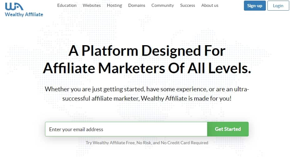 top 10 affiliate programs for beginners Wealthy Affiliate