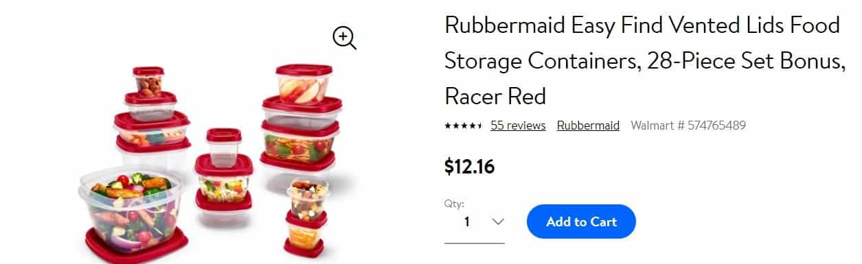 Tupperware-Rubbermaid Products