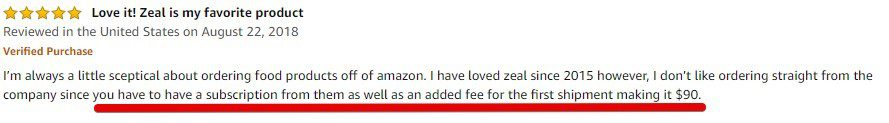 Zurvita Amazon Product Review