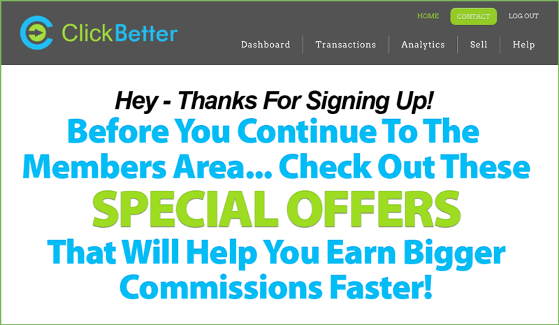 clickbetter partner offers