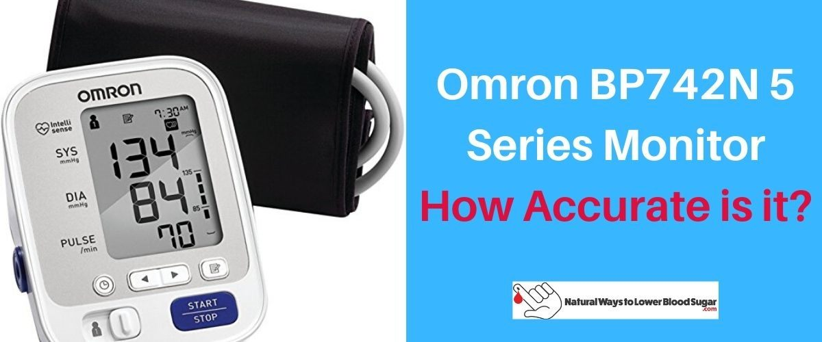 Omron BP742N 5 Series Monitor