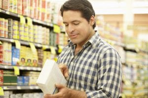 Reading food labels