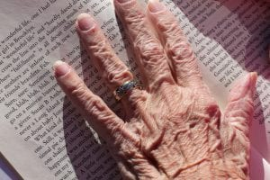 Wrinkled and Aging Hands