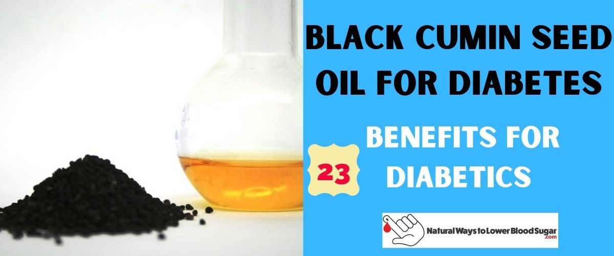 Black Cumin Seed Oil for Diabetes Featured Image