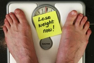 Lose Weight Now on Scale