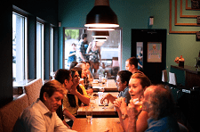 People Dining Out