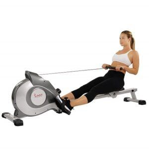 Sunny Health Fitness SF RW5515 Magnetic Rowing Machine