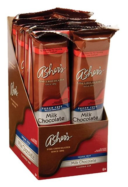 Asher's Chocolates, Sugar Free Chocolate Bars, Small Batches of Kosher Chocolate