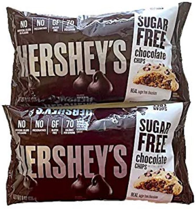 Hershey's Sugar Free Chocolate Chips - Special Edition Pack of 2