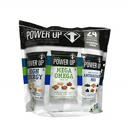 Power Up Trail Mix 100% Natural, Mega Omega Trail Mix - Best Cereals
