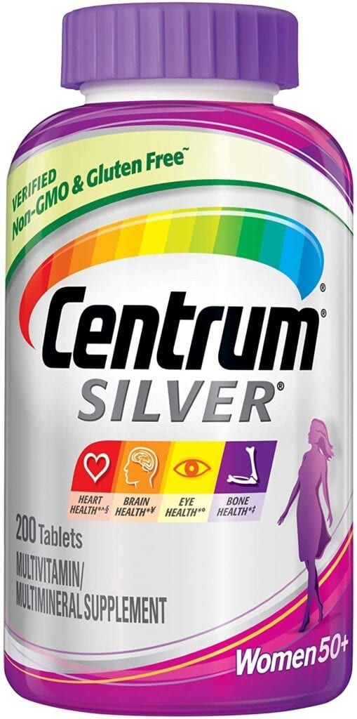 Centrum Silver Multivitamins for Women 50 Plus