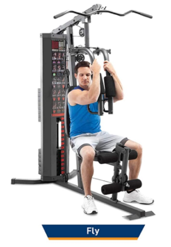 Home Gym Station - Marcy 150-lb Multifunctional Home Gym Station for Total Body Training