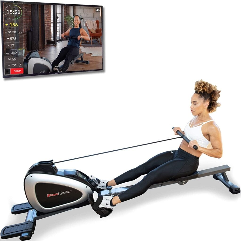 Fitness Reality 1000 Plus Bluetooth Magnetic Rowing Rower