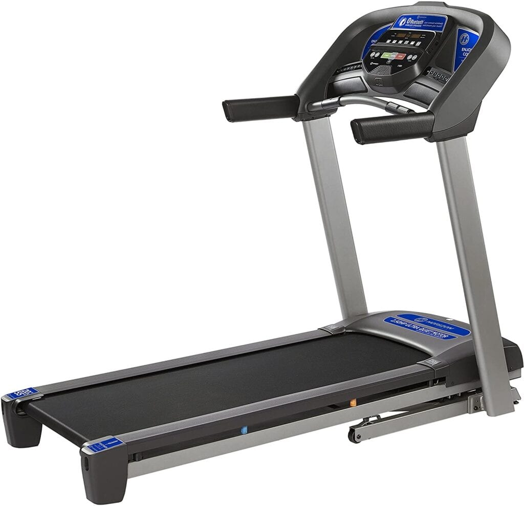 Horizon Fitness T101 Treadmill Series, Bluetooth Enabled, Folding Treadmills