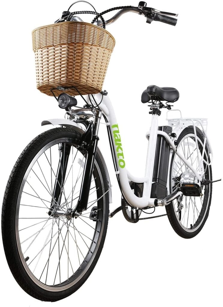NAKTO Electric Bike 26 Inch Electric Bicycle for Adults