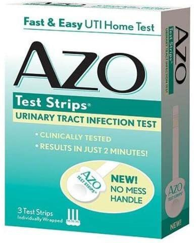 AZO Urinary Tract Infection Test Strips Pack of 3