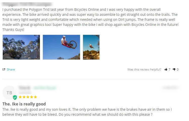 How to Find Content for a Blog Post - bicycle comments
