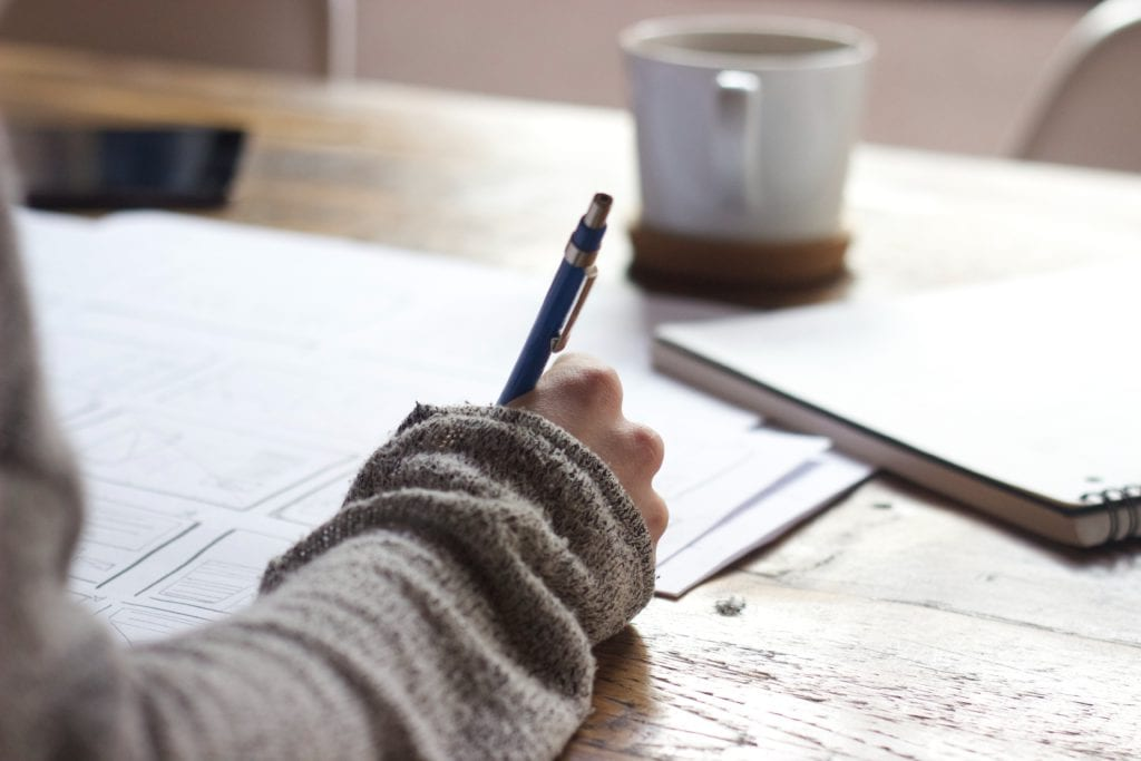 How to start and write a blog post - writing