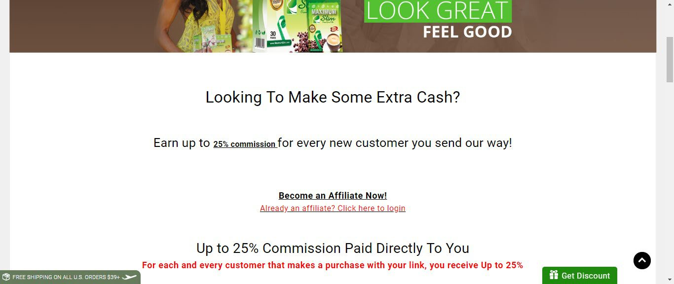 Best Supplement Affiliate Programs -maximum slim affiliate