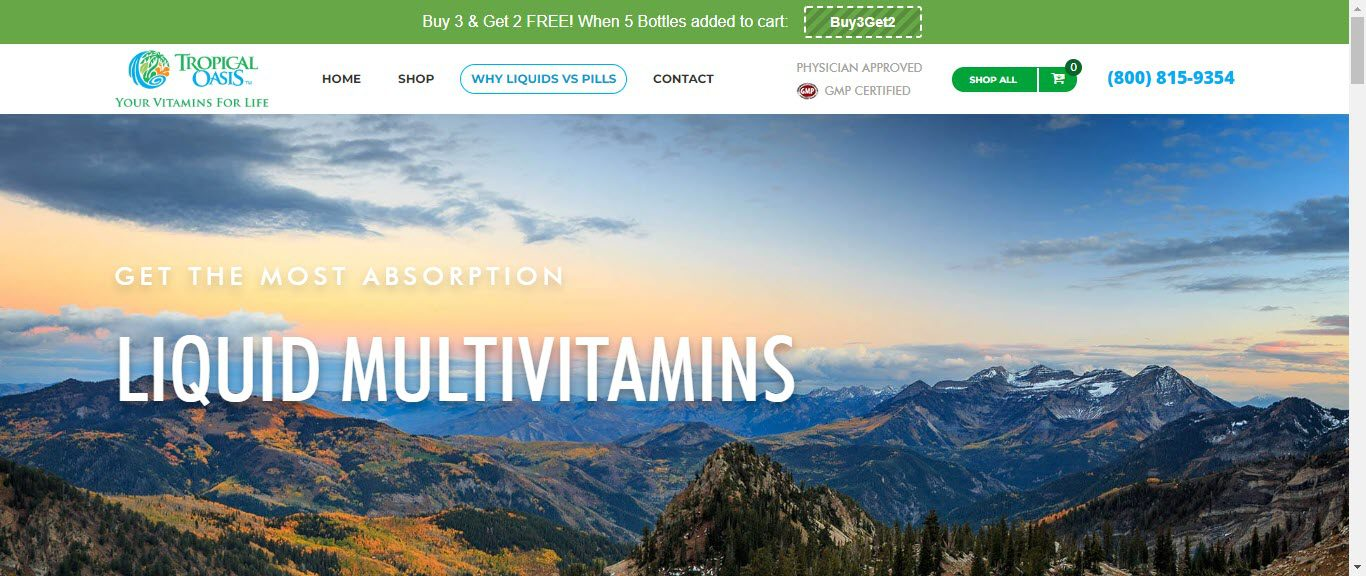 Best Supplement Affiliate Programs -tropical oasis