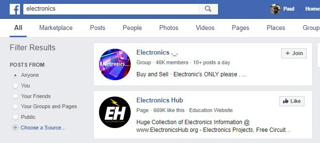 How to Sell Electronics Online - fb groups