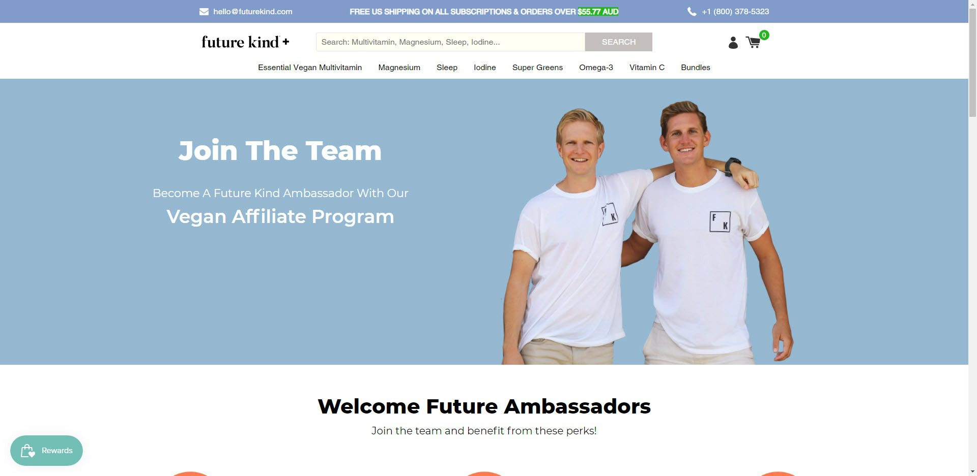 supplement affiliate programs - future kind affiliate