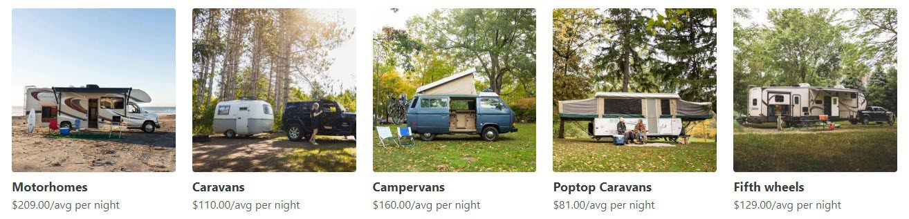 Camping Affiliate Programs - Outdoorsey stripe