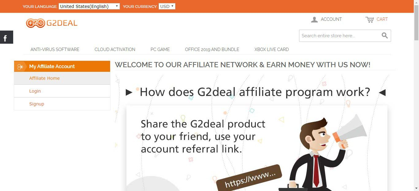 Video Game Affiliate Programs - G2Deal affiliate