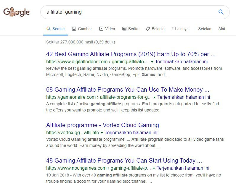 Video Game Affiliate Programs - gaming affiliate search