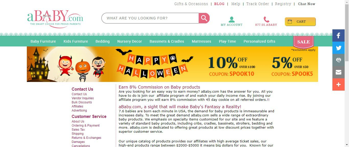 Baby Product Affiliate Programs - aBaby affiliate