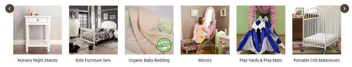 Baby Product Affiliate Programs - aBaby stripe
