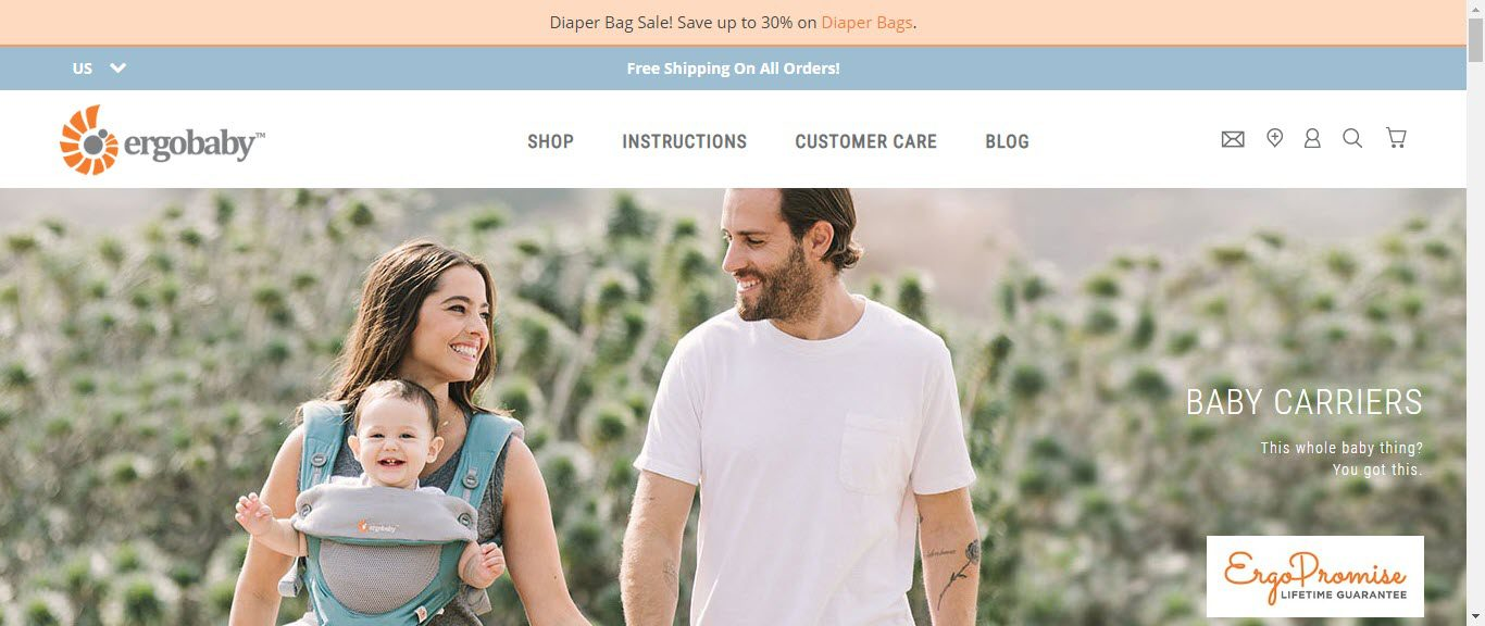 Baby Product Affiliate Programs - ergobaby