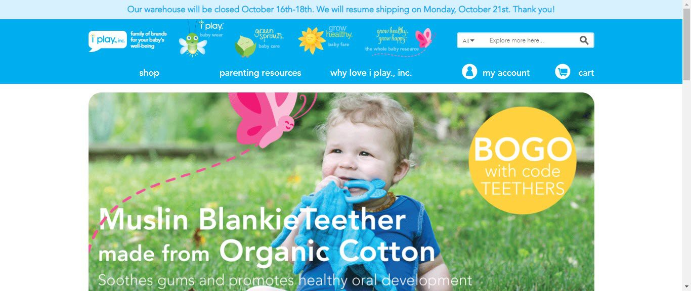 Baby Product Affiliate Programs - iplay