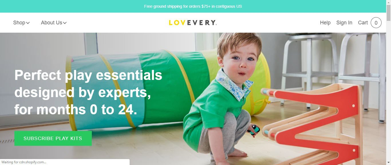 Baby Product Affiliate Programs - lovevery