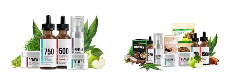Hempworx MLM Review - products