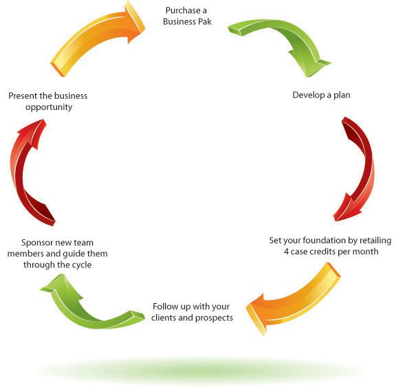 Is Forever Living MLM - success cycle