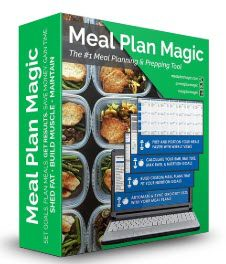 Weight loss affiliate programs - Meal Plan Magic stripe