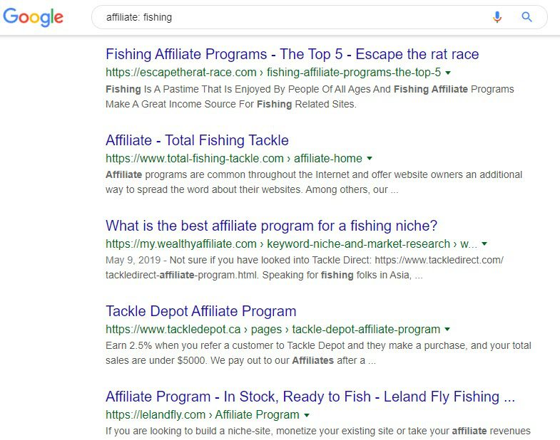 Fishing Affiliate Programs - affiliate