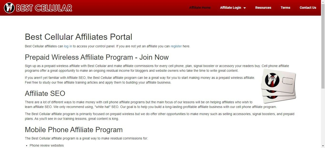 10 Cell Phone Affiliate Programs - Best Cellular affiliate