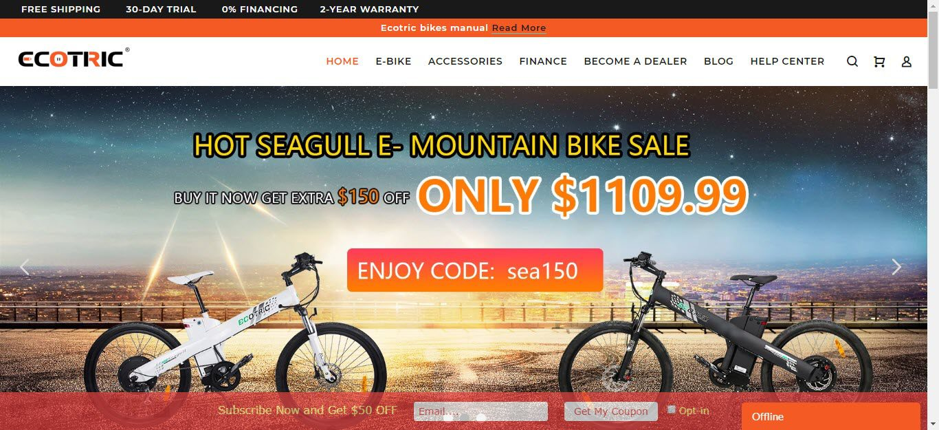 Bicycle Affiliate Program - ecotric