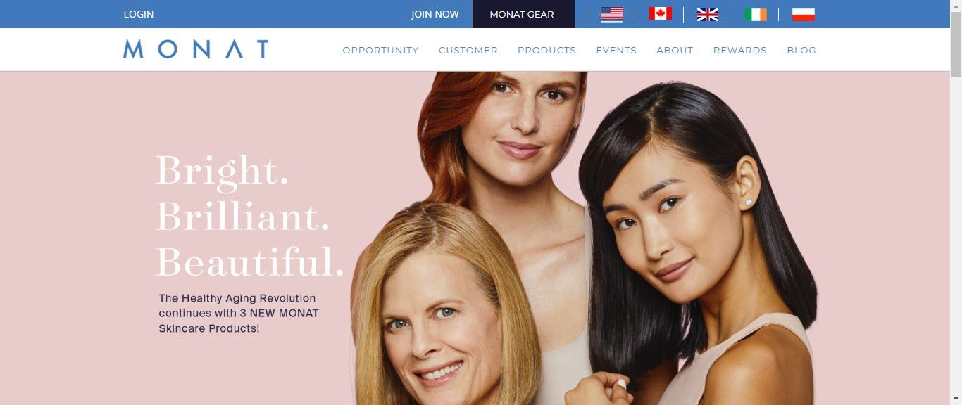 Is Monat a MLM - Home